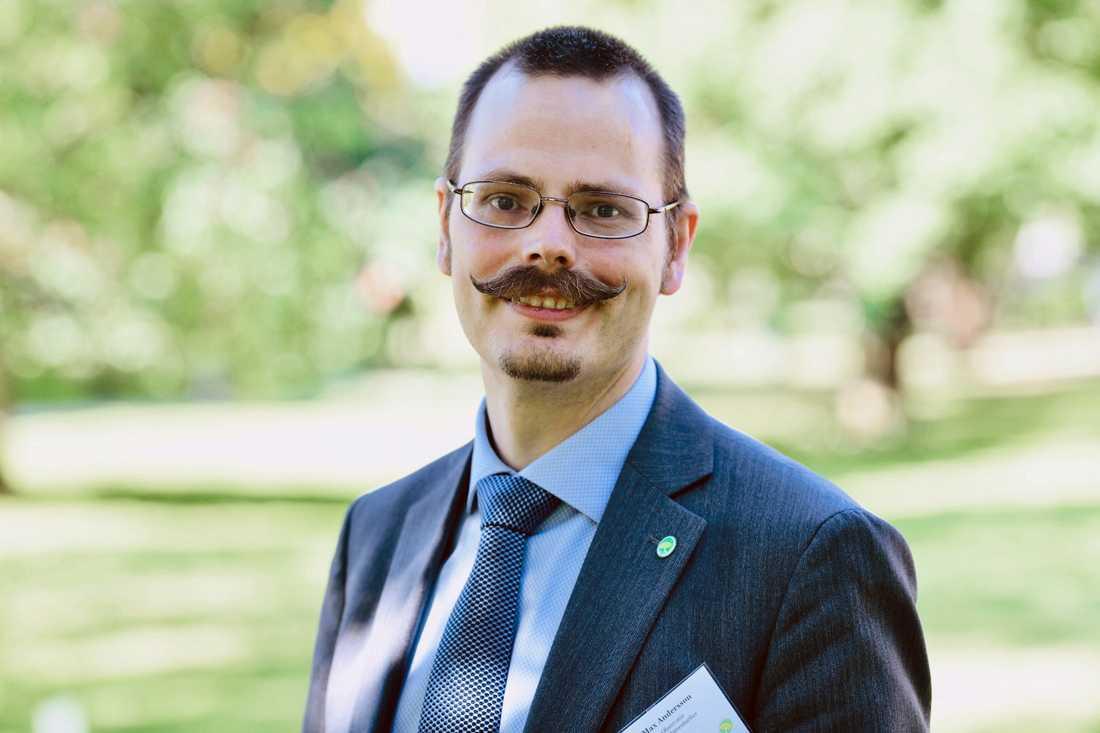 Max Andersson lämnar Miljöpartiet