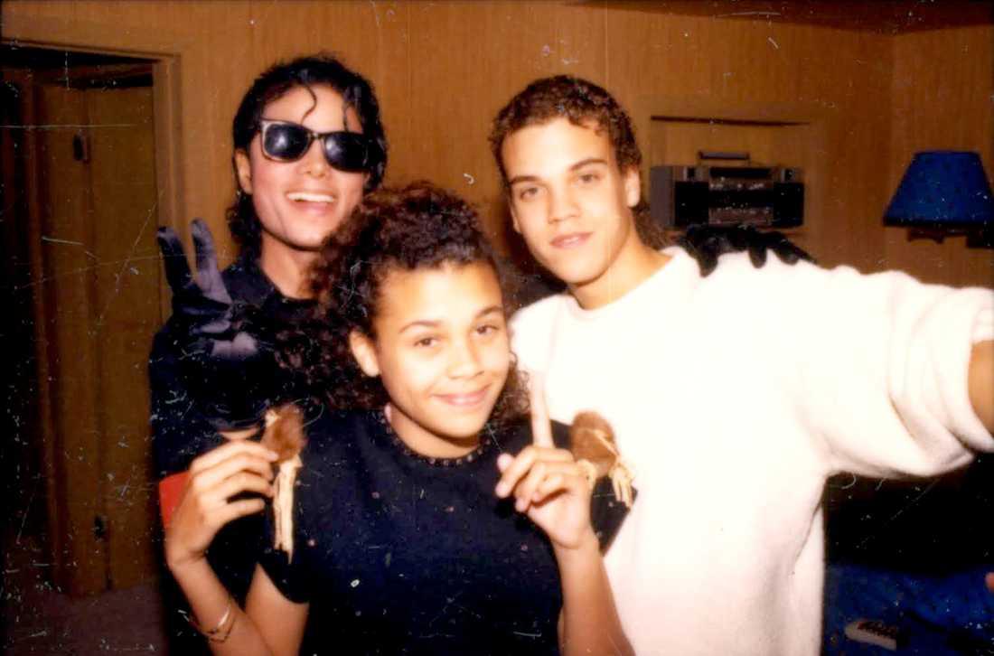 """Quincy Jones III i studion med Michael Jackson. """" Vi brukade gå ut och gå med hans lamadjur."""""""