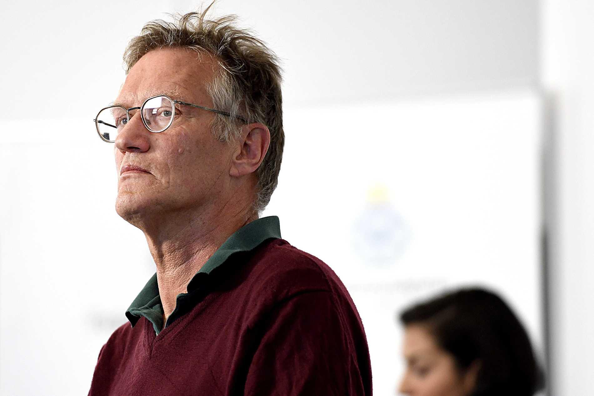 Åkesson tycker att Folkhälsomyndighetens arbete har varit ett fiasko. På bilden: Anders Tegnell.