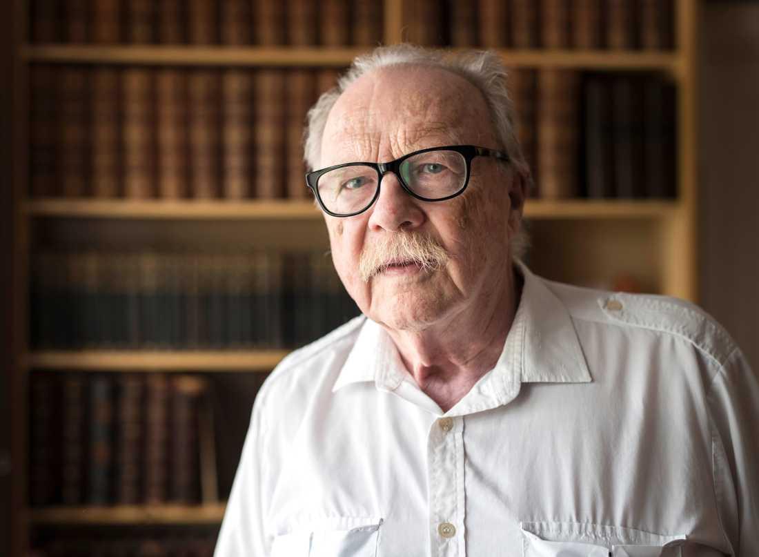Jan Myrdal har gått bort, 93 år gammal.