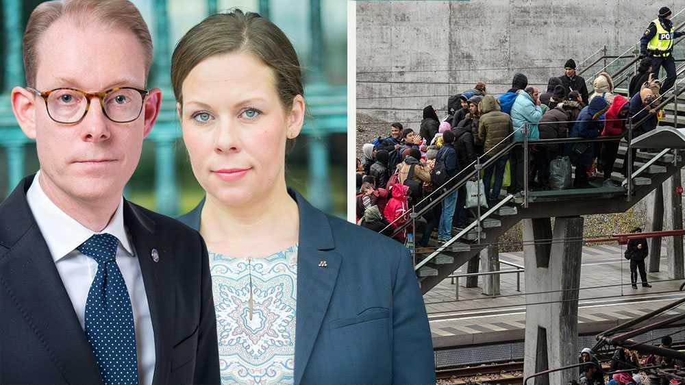 En helt avgörande insikt är att vi inte kommer att lyckas med integrationen om vi inte avsevärt stramar åt invandringen i många år framåt, skriver Tobias Billström och Maria Malmer Stenergard (M).