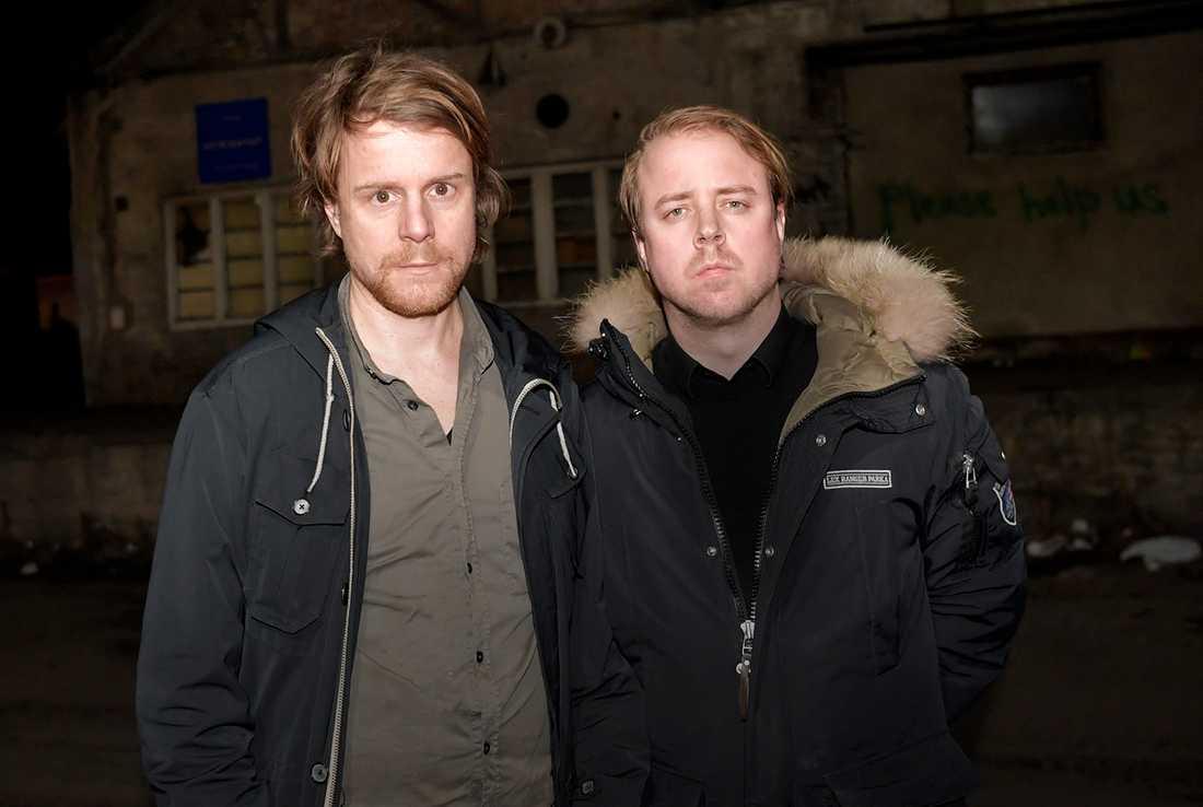 Aftonbladets Staffan Lindberg och Andreas Bardell