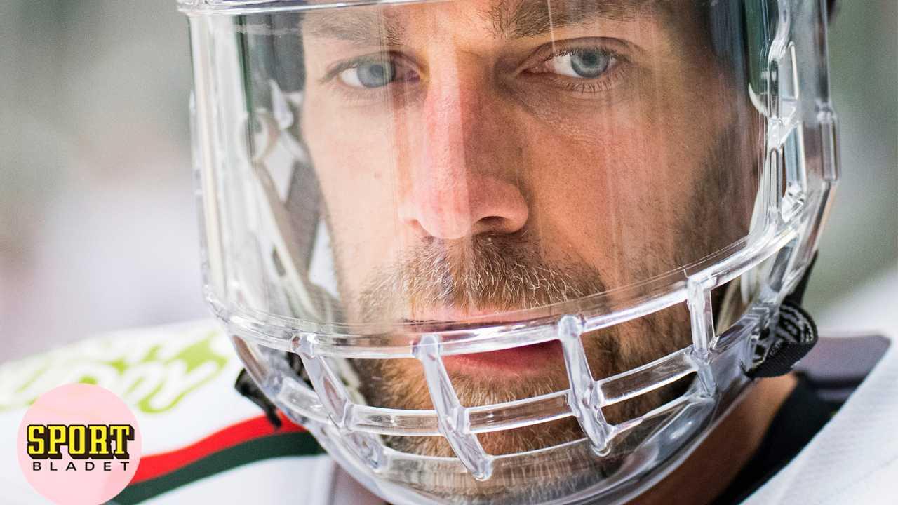 Joel Lundqvist gjorde chockcomeback i specialhjälm