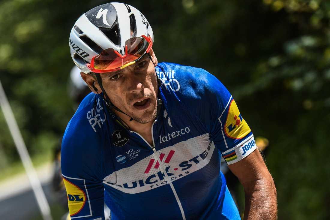 Philippe Gilbert tog sig i mål efter den våldsamma kraschen – men efteråt stod det klart att det är färdigcyklar för belgaren i Tour de France.