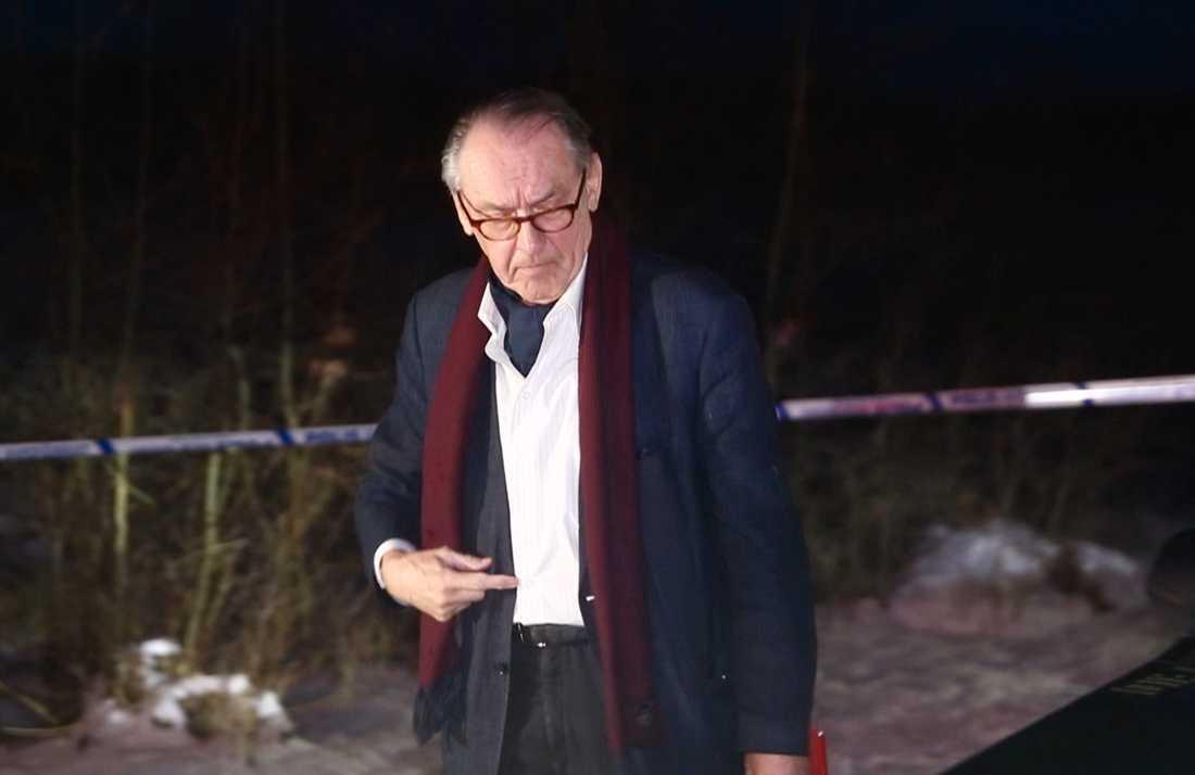 FN:s tidigare vice generalsekreterare Jan Eliasson anländer.