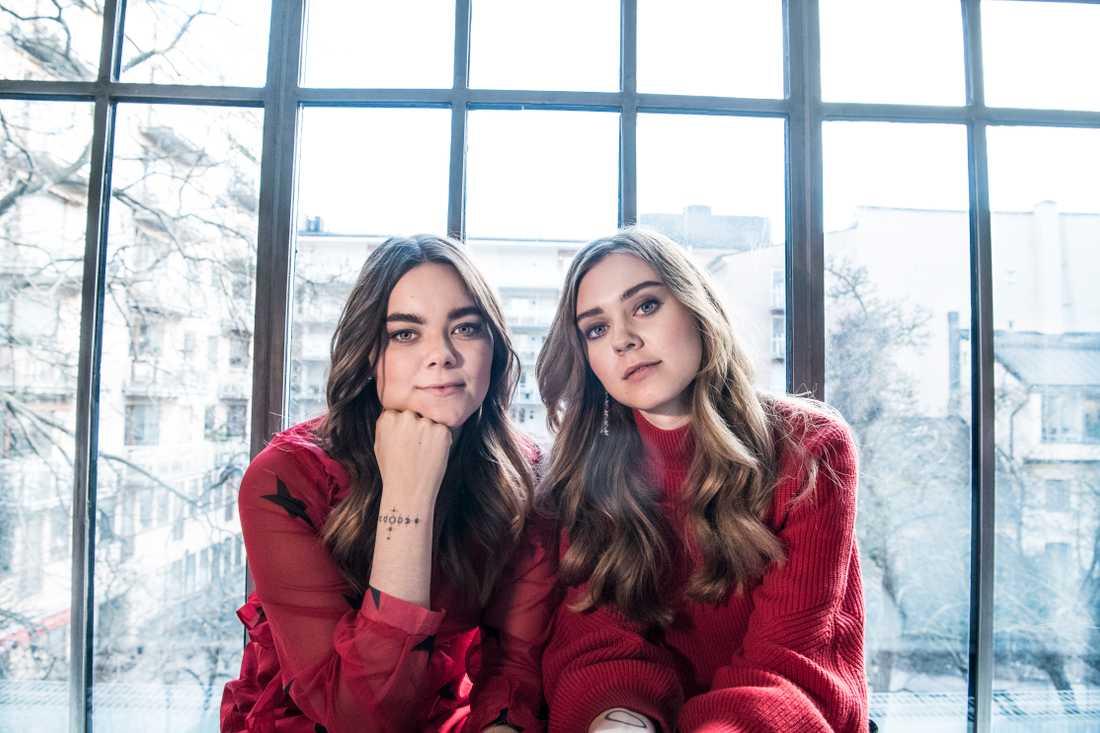 Klara och Johanna Söderberg.