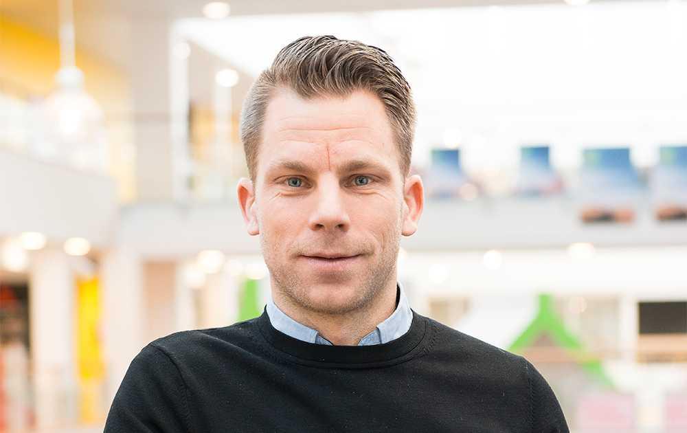 Magnus Hjelmér, vardagsekonom på ICA Banken.