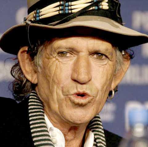 Keith Richards Foto: AP