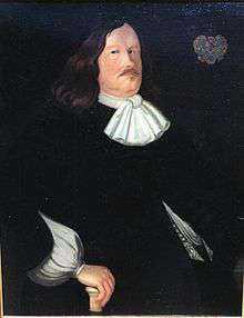 """Johan Björnsson Printz, även kallad """"storbuken"""" var Nya Sveriges guvernör mellan 1643 och 1653."""