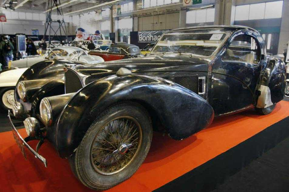 Nu ska den sällsynta Bugattin säljas. Utropriset är satt till 35 miljoner kronor.