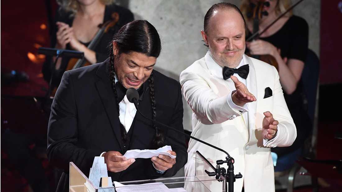 När Metallica tilldelades Polarpriset var det ett välbehövligt erkännande för hela hårdrockscenen.