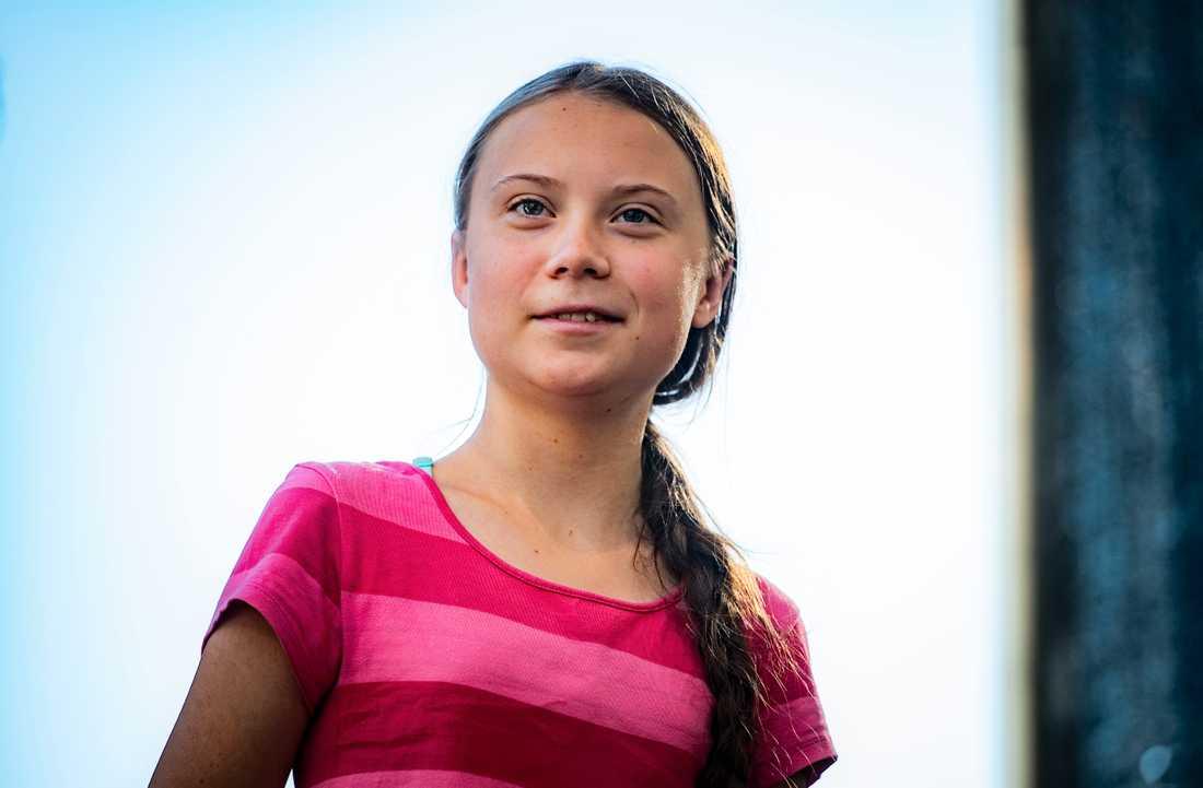 Greta Thunberg i USA.