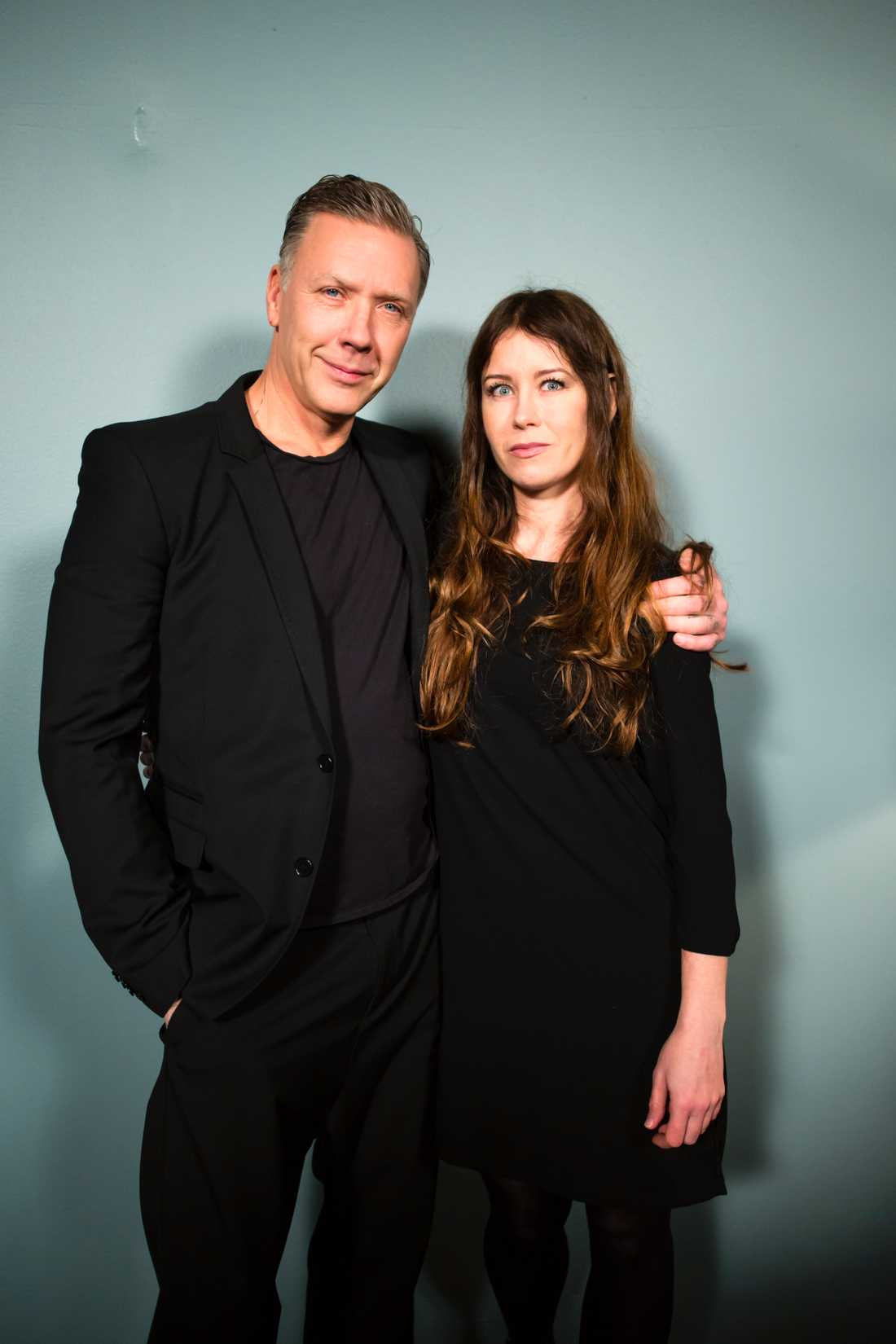 Anna Odell och Mikael Persbrandt.