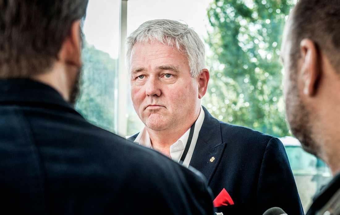 Centerpartiets gruppledare Anders W Jonsson