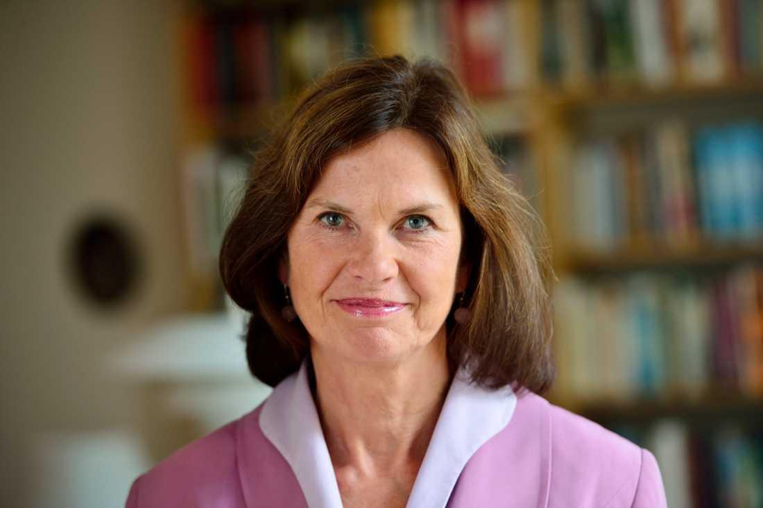 Journalisten och kritikern Maria Schottenius upprördes av förslaget att stryka antikens historia ur kursplanen. Arkivbild.