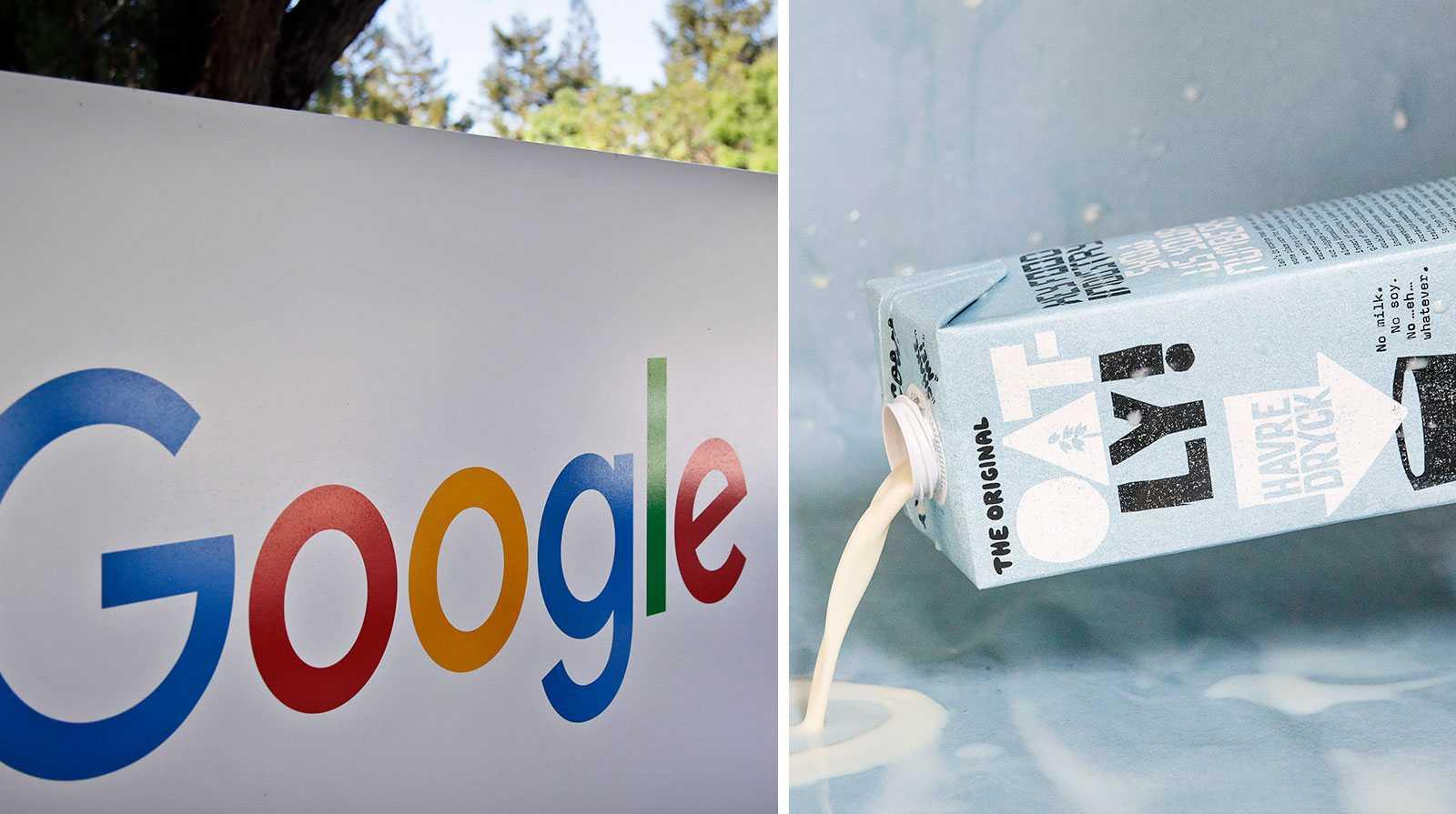 Google i topp och Oatly på plats elva över de mest attraktiva arbetsplatserna.