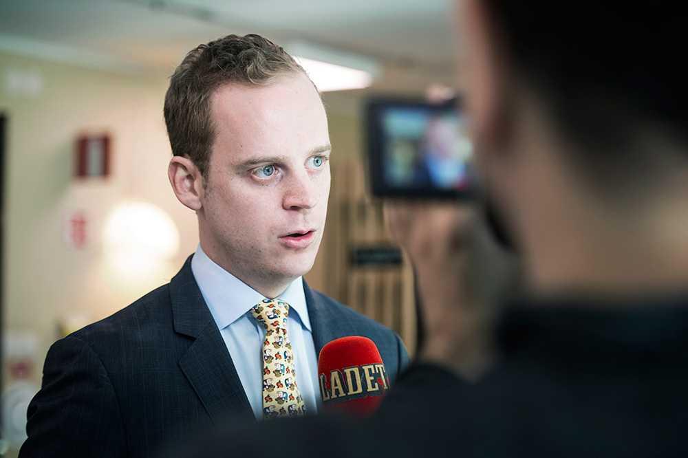 """""""Jag beskrivs jag som en halvfascist med Napoleonkomplex"""", säger SDU:s ordförande Gustaf Kasselstrand."""