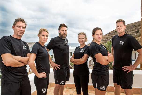 Grupp 1 består av Jörgen Persson, Hanna Marklund, Peter Forsberg, Karolina Höjsgaard, Caroline Ek och Niklas Jihde.