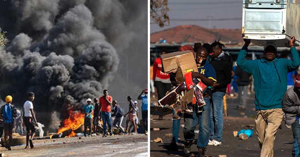 Apokalyptiska scener i Sydafrika – börjar tillverka egna vapen