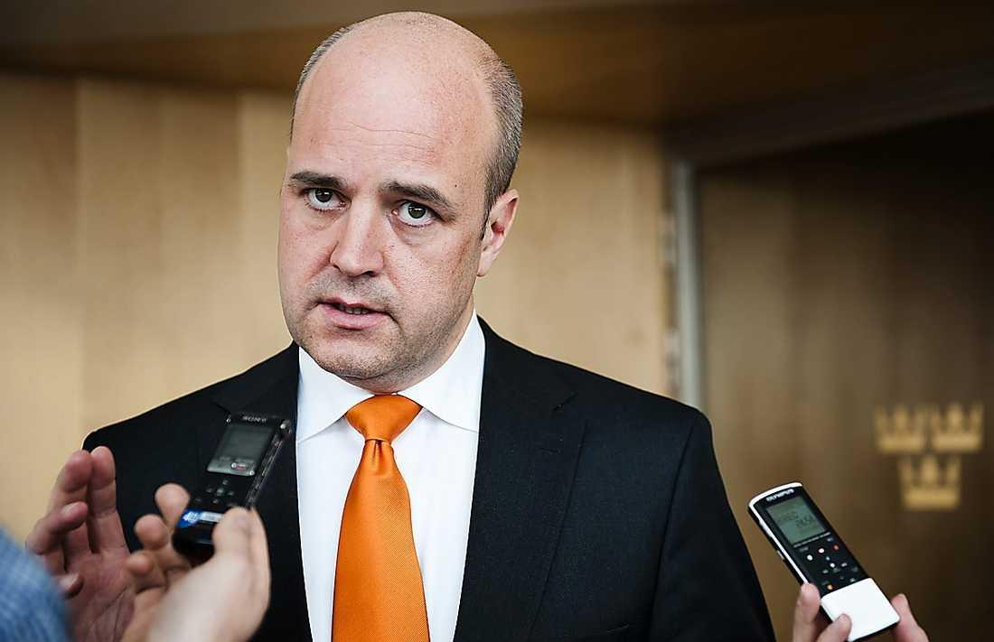 Fredrik Reinfeldt behöver göra ganska lite ...