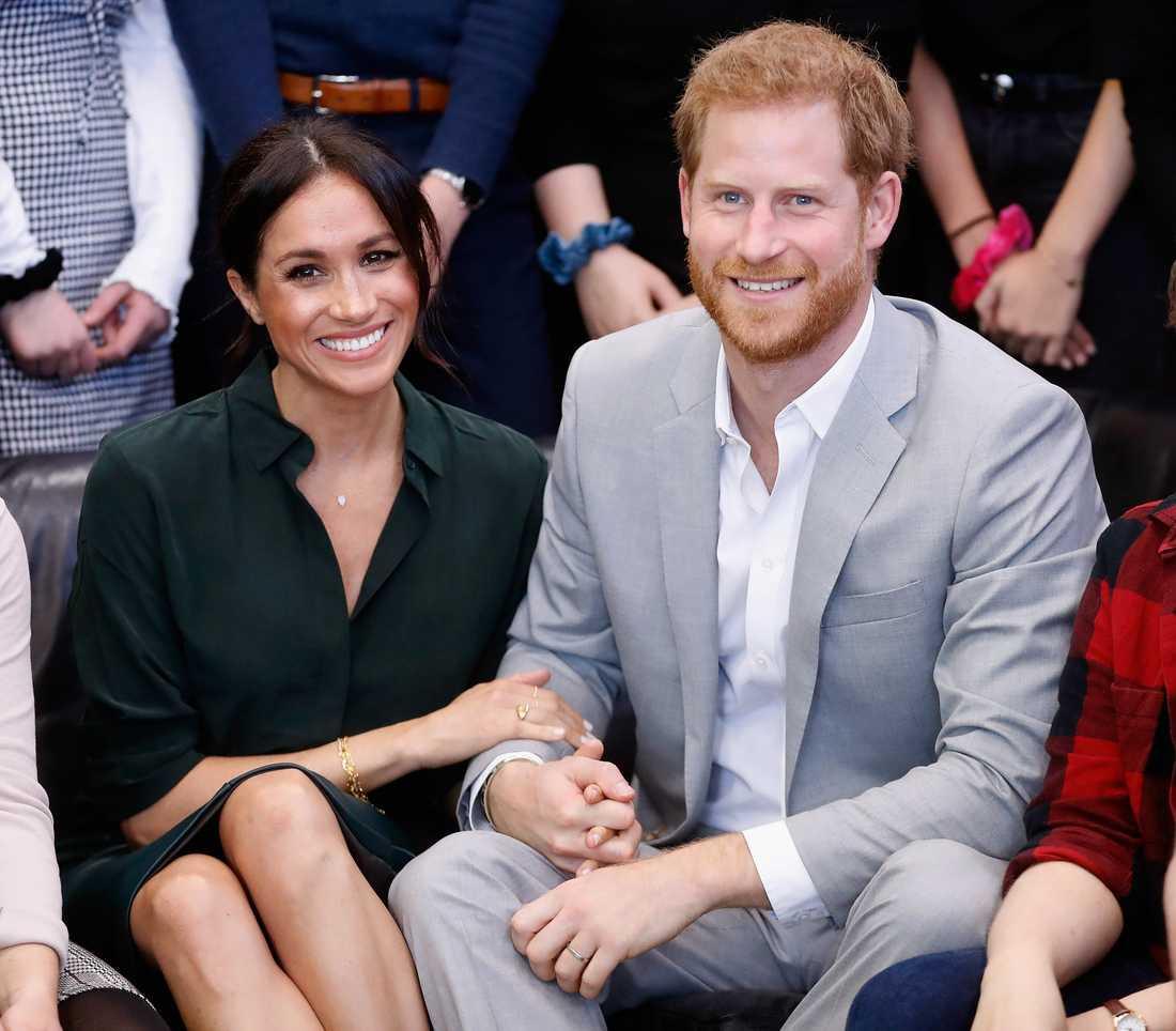 Meghan Markle och prins Harry.