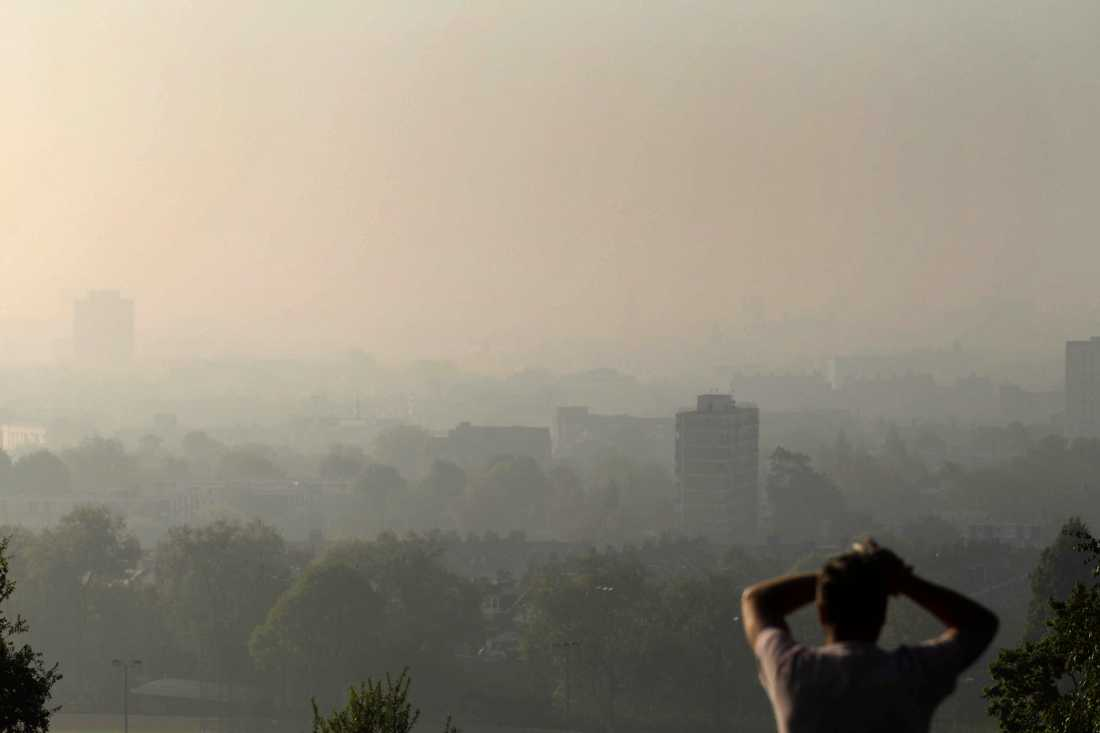 Utsikt från Hampstead Heath.