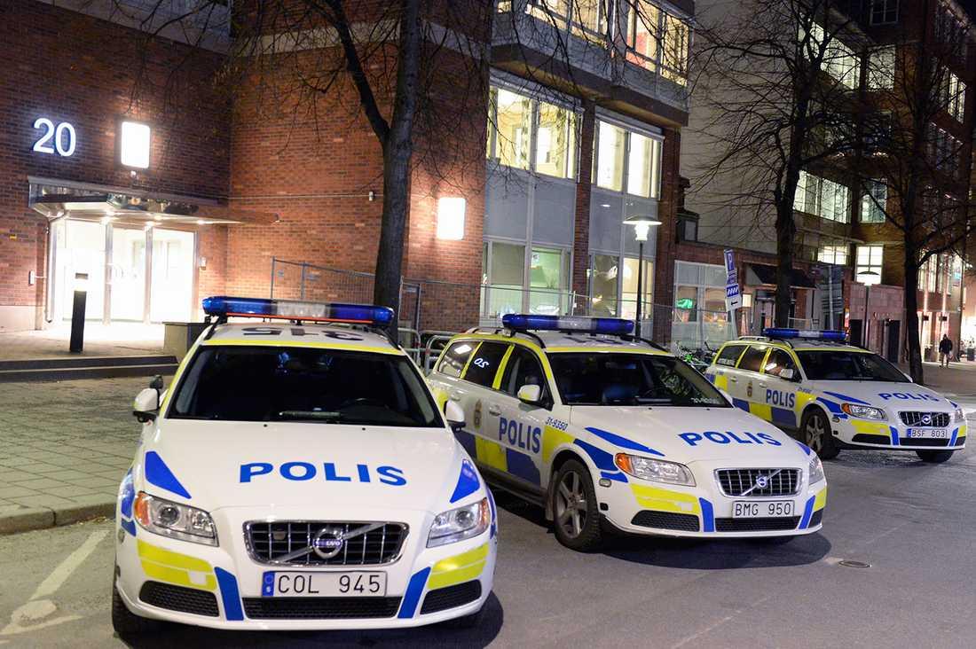 Södermalms polisstation.