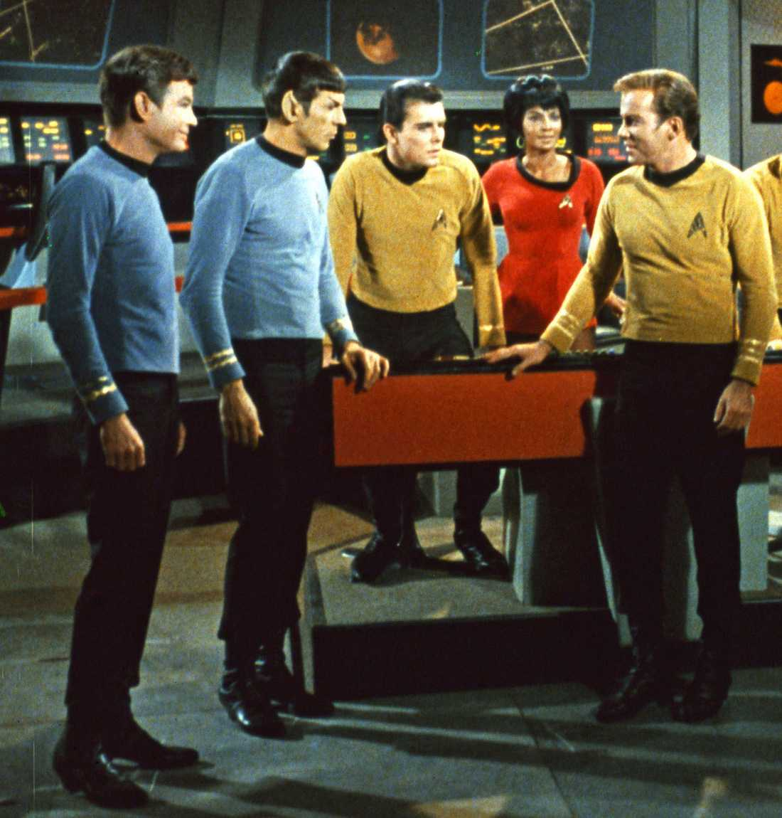 Ur en scen i Star Trek.
