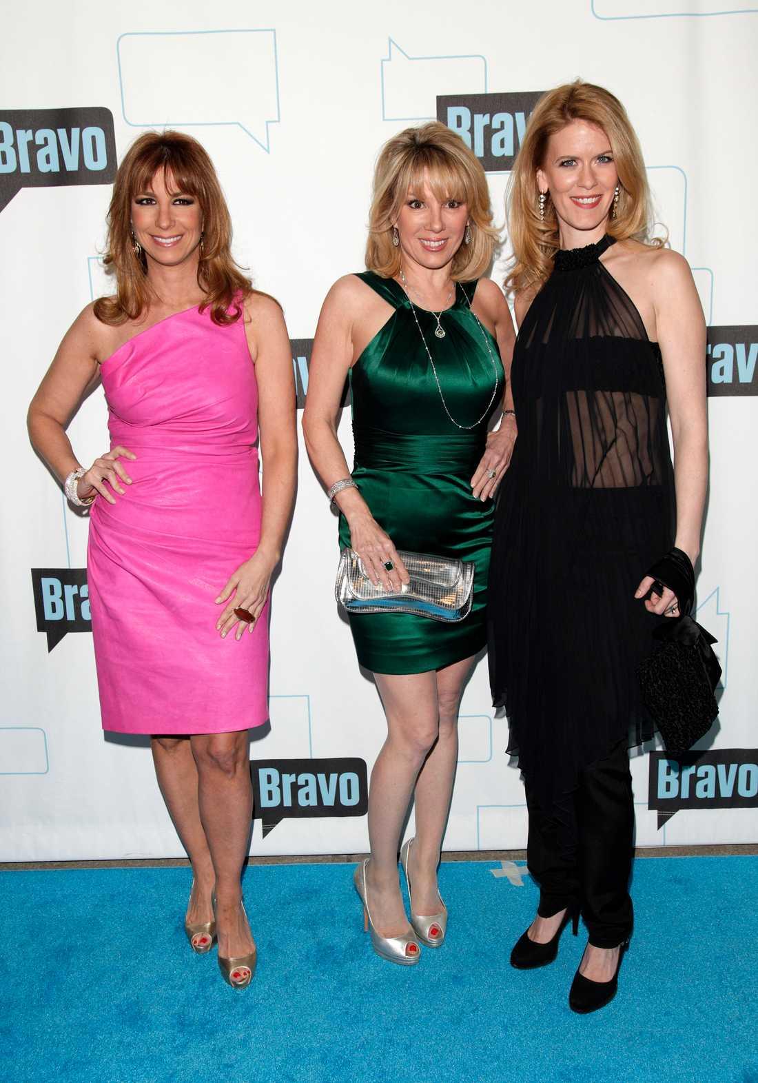 """Jill Zarin var med i """"The real housewives of New York City"""" tillsammans med bland andra Ramon Singer och Alec McCord."""