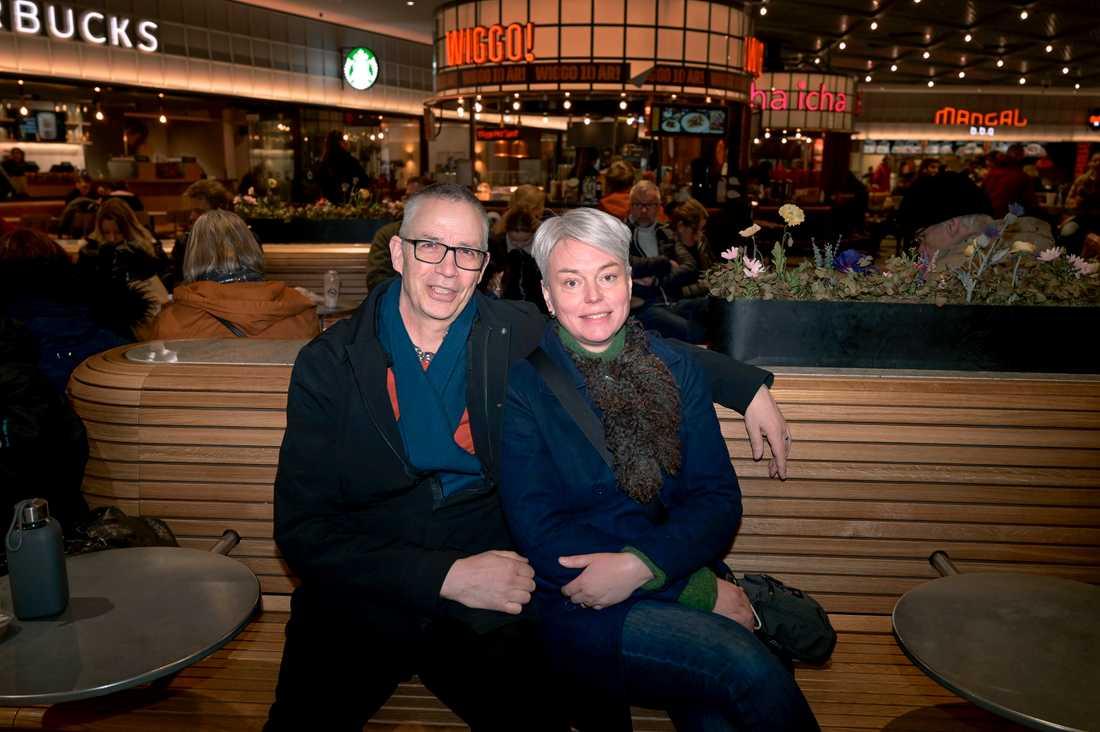 Magdalena Koistinen, 49 år, och Albert Koistinen, 59 år, från Uppsala.