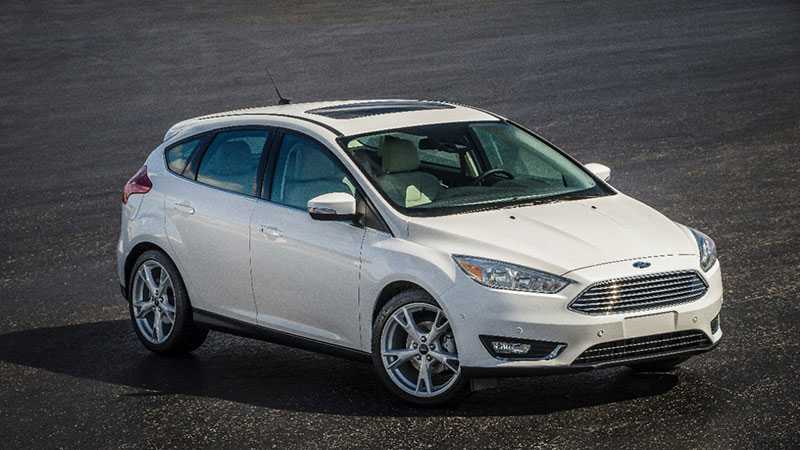 Ford Focus är världens bäst säljande bil – och vitt är världens populäraste färg. Således; här är världens vanligaste bil, statistiskt sett.