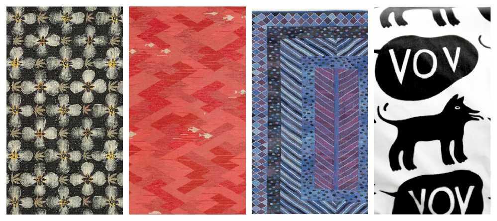 Mönster kvinnliga textildesigners som älskas än i dag.