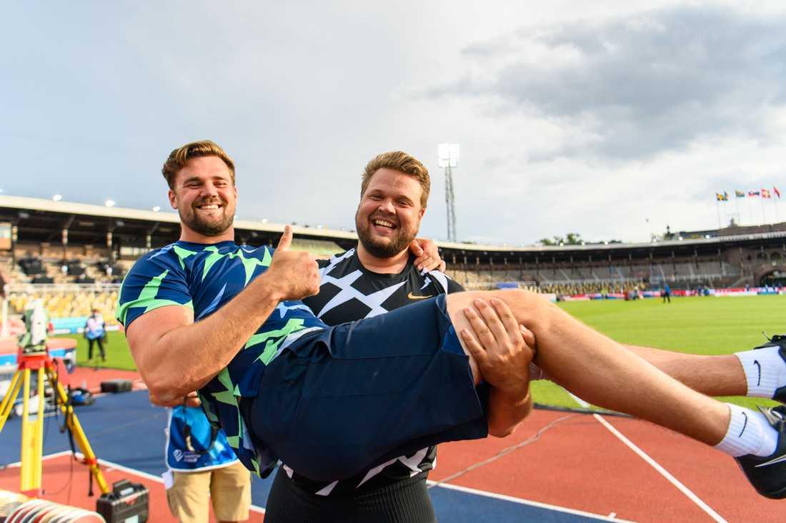 Simon Pettersson och Daniel Ståhl.