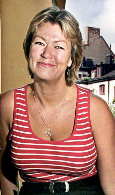 Ylva Johansson, politiker.