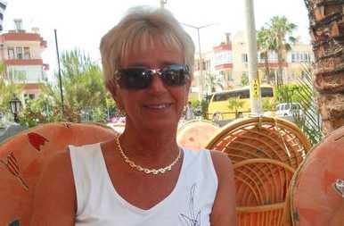 Sylvia Hammer, 60, fick kontot länsat under semesterresan till Turkiet.
