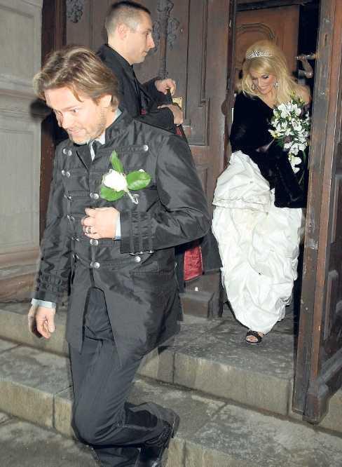 """""""Det känns skitbra"""" Äntligen fick Niclas Wahlgren sin Laila Bagge."""