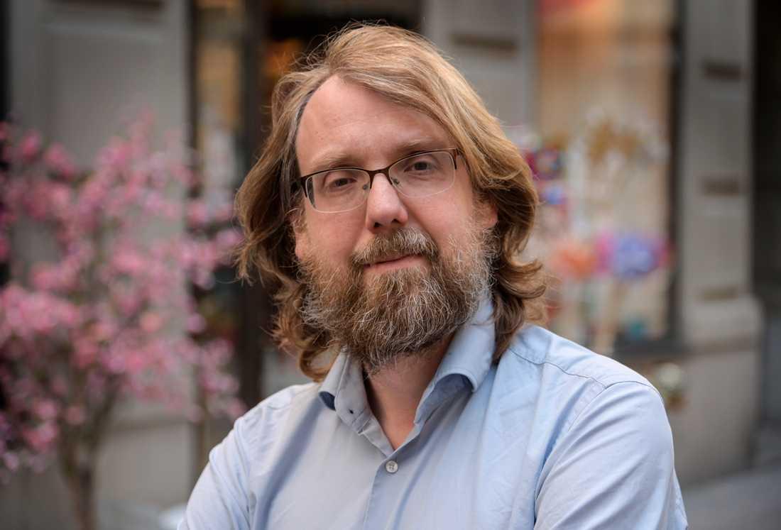 Andreas Johansson Heinö. Arkivbild.
