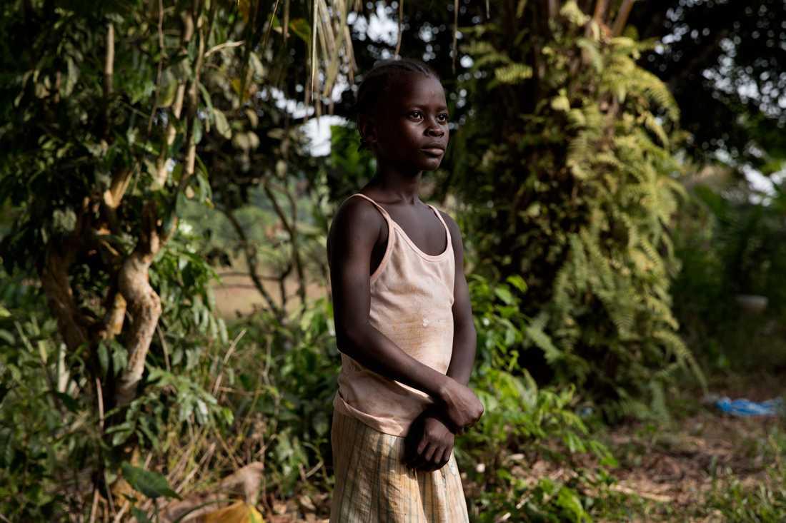 Miata 9, förlorade sin mamma och pappa i Ebola.