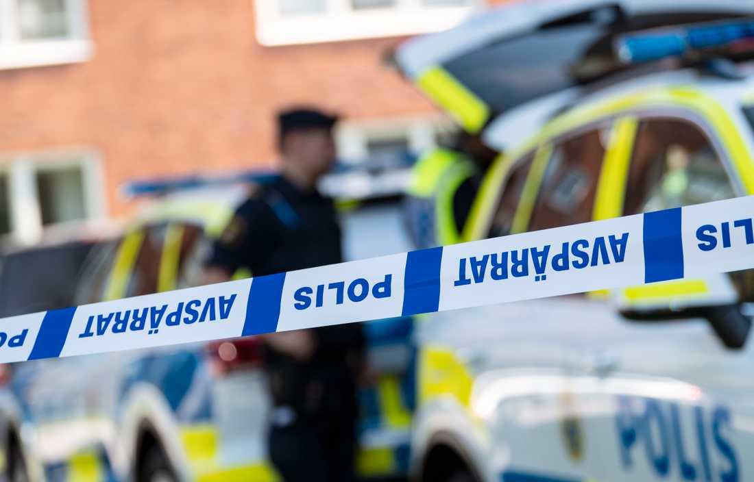 Polisen genomför en stor insats i Växjö under namnet Operation försommar. Arkivbild.