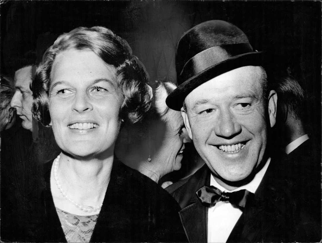 Tuss och Lennart Hyland 1966.