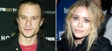 Vänner Heath Ledger och Mary-Kate Olsen.