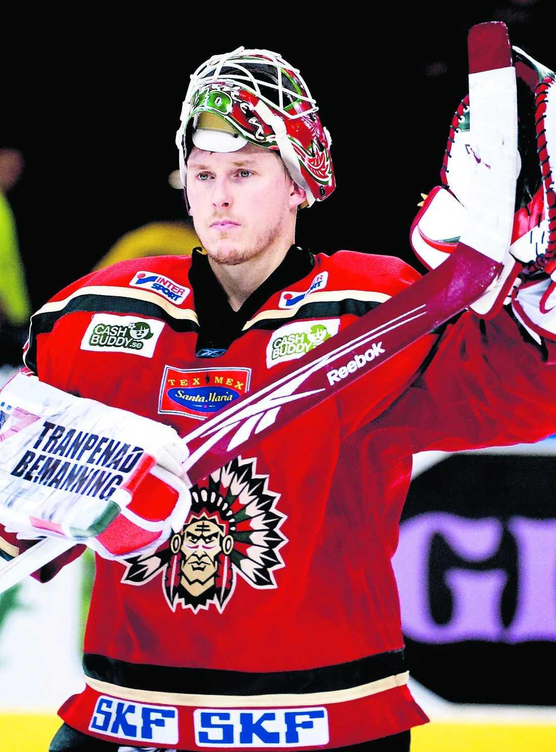 TILLBAKA I GÄVLE Johan Homqvist har skrivit på ett tvåårskontrakt med Brynäs.