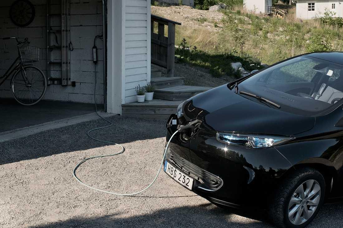 Renaults elbil Zoe har räckvidd mellan 240 och 400 km.