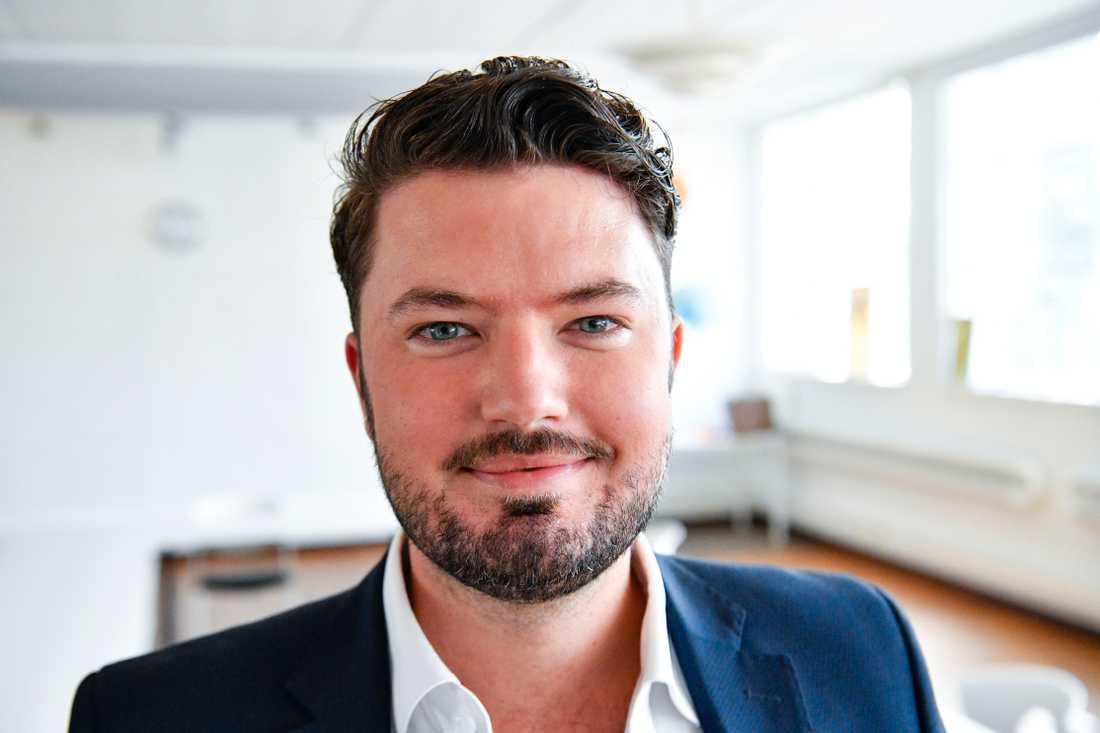 """""""En morgondag väntar efter pandemin men nu behöver vi hålla i och hålla ut"""", säger Roko Kursar (L) till Aftonbladet. Arkivbild."""
