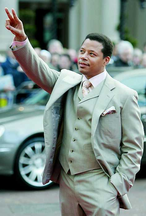Skådespelaren Terrence Howard.