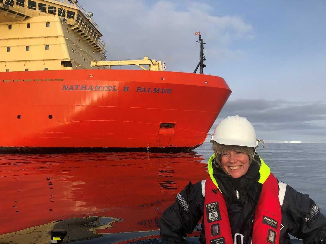 Anna Wåhlin, professor i oceanologi vid Göteborgs universitet.