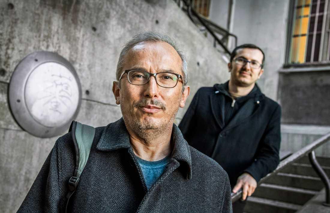 Nurettin Aytug har nu återförenats med sonen Huseyin Aytug och resten av familjen i Sverige efter 500 dagar i turkiskt fängelse.