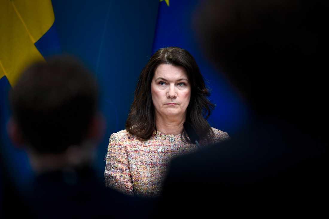 Sveriges utrikesminister Ann Linde. Arkivbild.