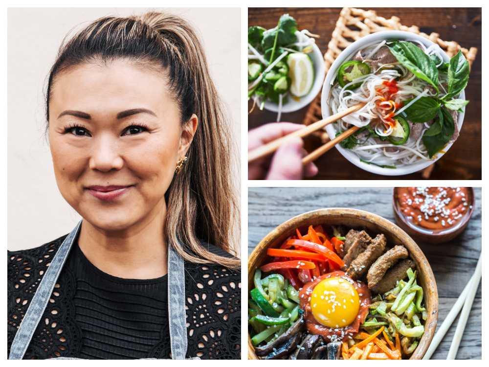 Jenny Walldén berättar om olika asiatiska kök.