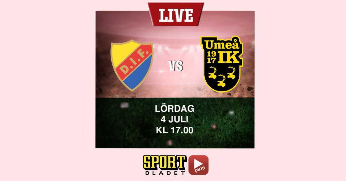 Djurgården–Umeå i damallsvenskan på Sportbladet Play